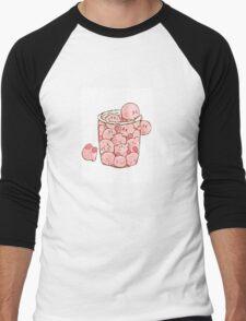 Cute Kirby squad Men's Baseball ¾ T-Shirt