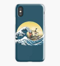 Going Merry by Hokusai iPhone Case