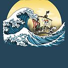 Going Merry by Hokusai by oliviero