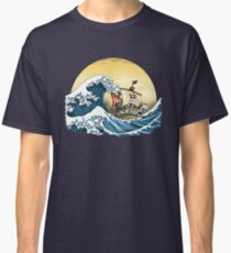 Going Merry by Hokusai Classic T-Shirt