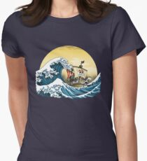Going Merry by Hokusai Womens Fitted T-Shirt