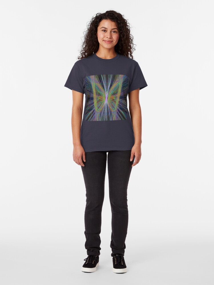 Alternate view of Linify Motley butterfly Classic T-Shirt