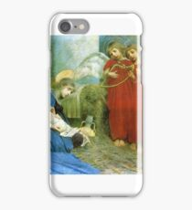 Marianne Stokes - Angels Entertaining the  Holy Child  iPhone Case/Skin