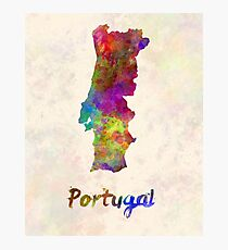 Portugal in watercolor Photographic Print