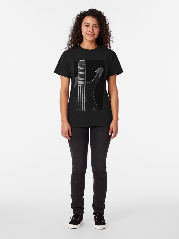 Alternate view of Ibanez 'Iceman Bass' Guitar Classic T-Shirt