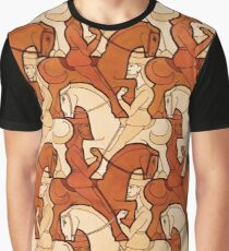 Horseman tessellation Graphic T-Shirt