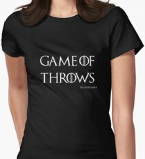 Game of Throws (BJJ, MMA, Judo) Womens Fitted T-Shirt