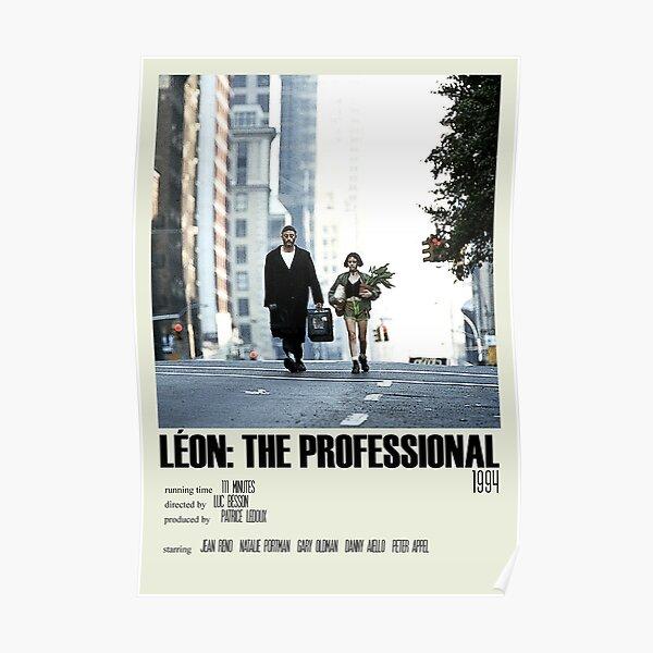 Léon: The Professional Alternative Poster Art Movie Large (1) Póster