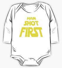 Han Shot First One Piece - Long Sleeve