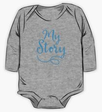 MY STORY in blue Kids Clothes