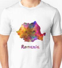 Romania in watercolor Unisex T-Shirt
