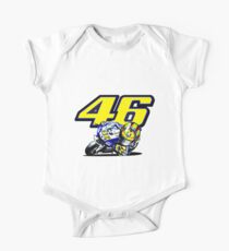 Valentino Rossi baby supporter One Piece - Short Sleeve