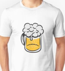 Beer drinking handle Unisex T-Shirt