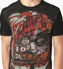 Two Faced Wolf Man Graphic T-Shirt