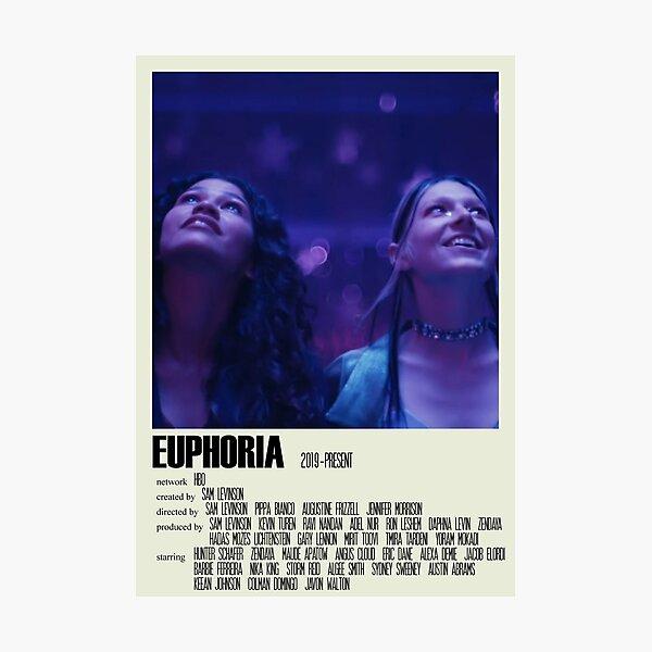 Euphoria Alternative Poster Art TV Show Large (1) Photographic Print