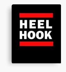 Heel Hook (BJJ & MMA) Canvas Print