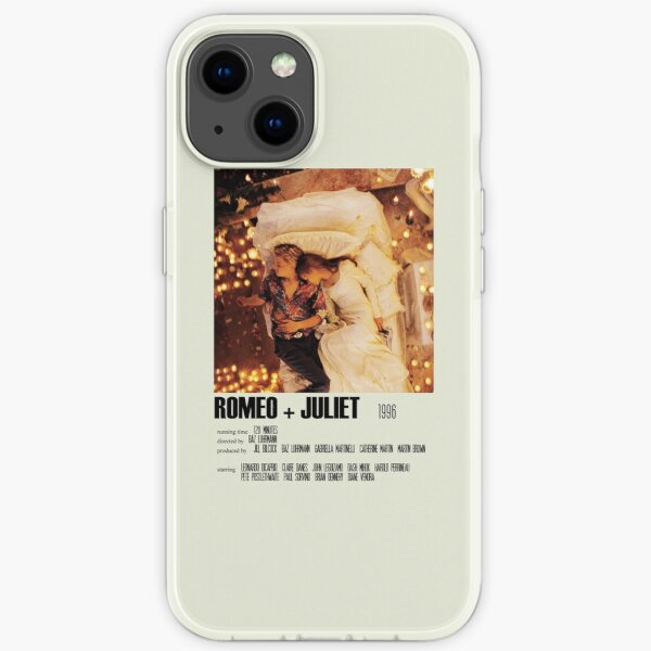 Romeo + Juliet (1996) Alternative Poster Art Movie Large (1) iPhone Soft Case