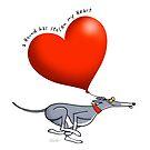 Stolen Heart - blue hound by RichSkipworth