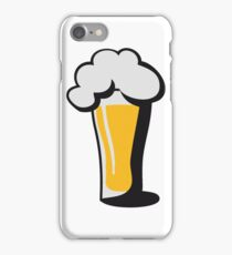Beer drinking glass drinking alcohol iPhone Case/Skin