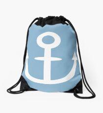 Jojo - Soft & Wet Anchor (Variant 1, White) Drawstring Bag