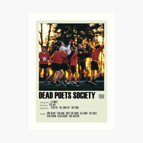 Dead Poets Society Póster alternativo Art Movie Large (3) Lámina artística