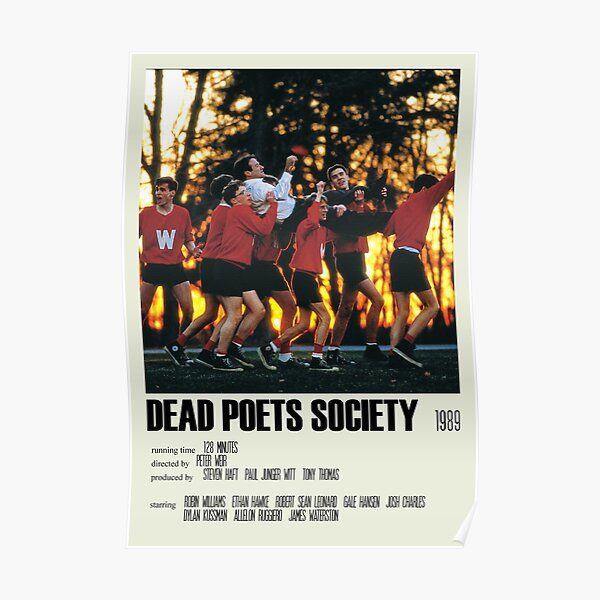 Dead Poets Society Alternative Poster Art Movie Large (3) Poster