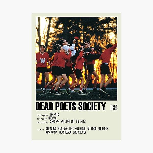 Dead Poets Society Póster alternativo Art Movie Large (3) Lámina fotográfica