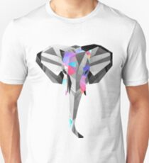 Low-Poly Elephant T-Shirt