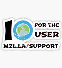I SUMO For The User Sticker