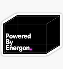 Powered By Energon Sticker