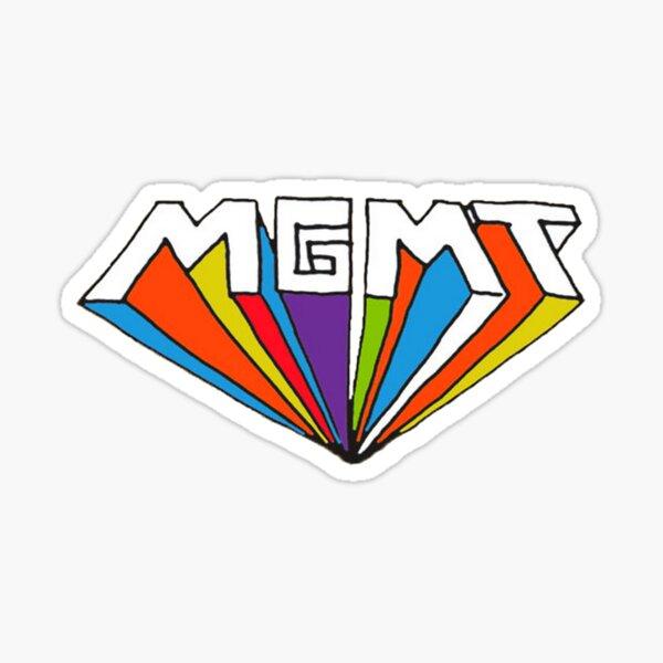 MGMT logo Sticker