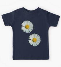Two white daisies Kids Tee