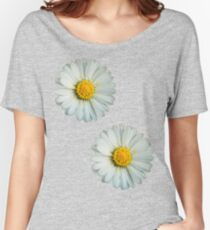 Two white daisies Women's Relaxed Fit T-Shirt