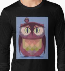 THE SAT UPON OWL T-Shirt