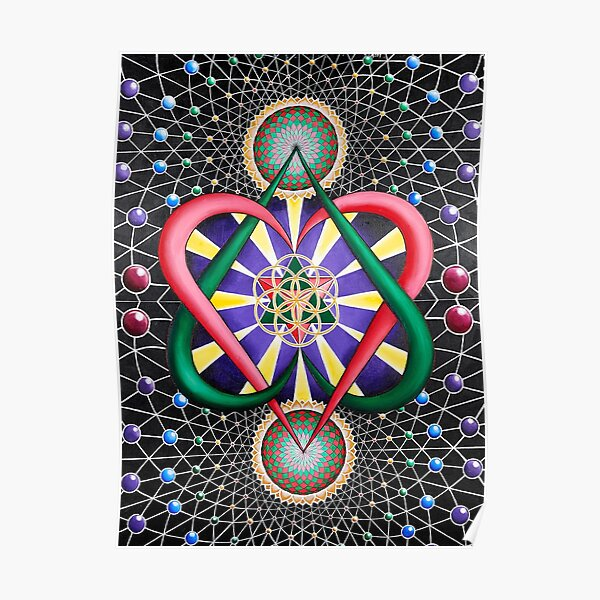 The Toroidal Creation Geometry of Love Poster