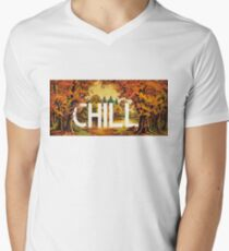 Chill Mens V-Neck T-Shirt