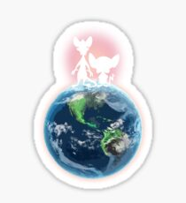Take Over The World Sticker