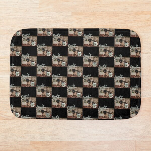 Puggly Muggly - Pug On A Mug Bath Mat