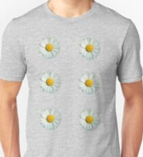 Six white daisies Unisex T-Shirt