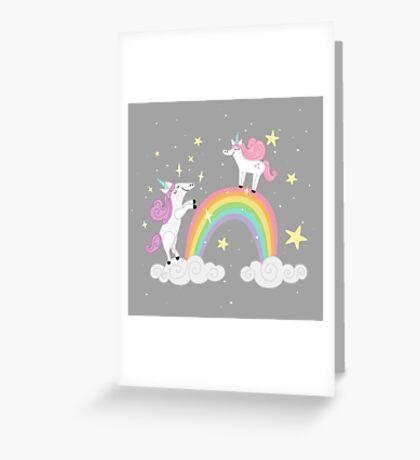 I Believe - Grey Greeting Card
