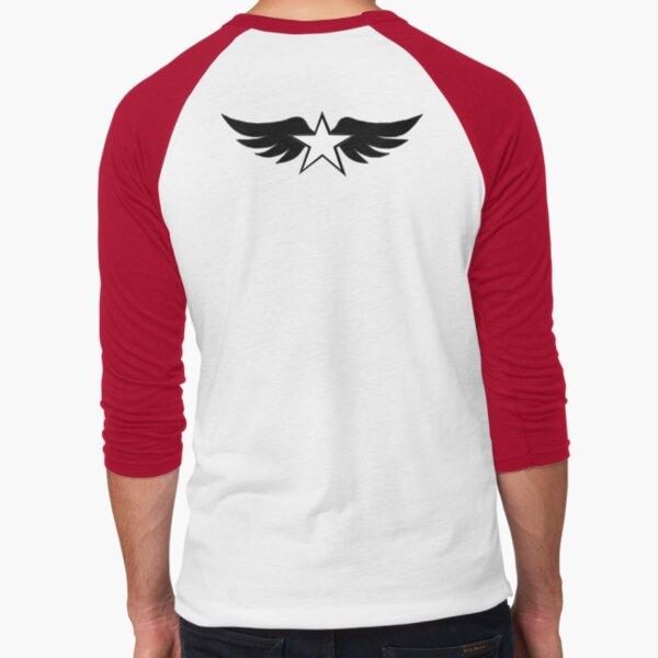 Spread the Wings Baseball ¾ Sleeve T-Shirt