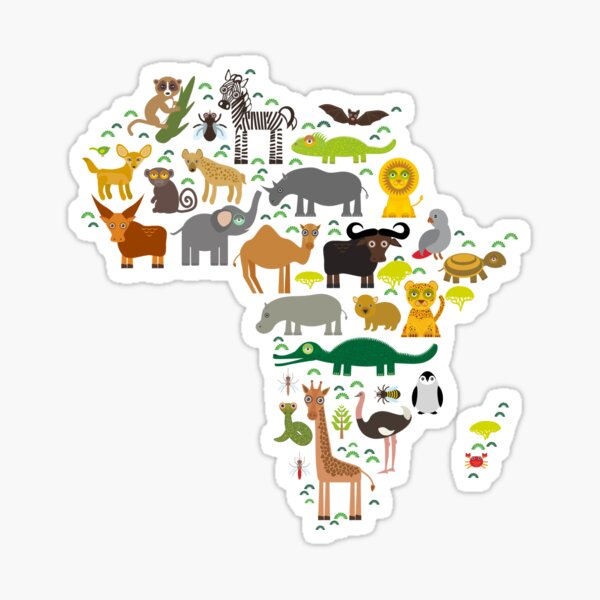 Africa Sticker