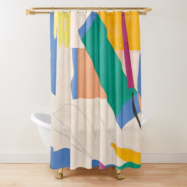 Henri Matisse: The Cut-Outs Shower Curtain