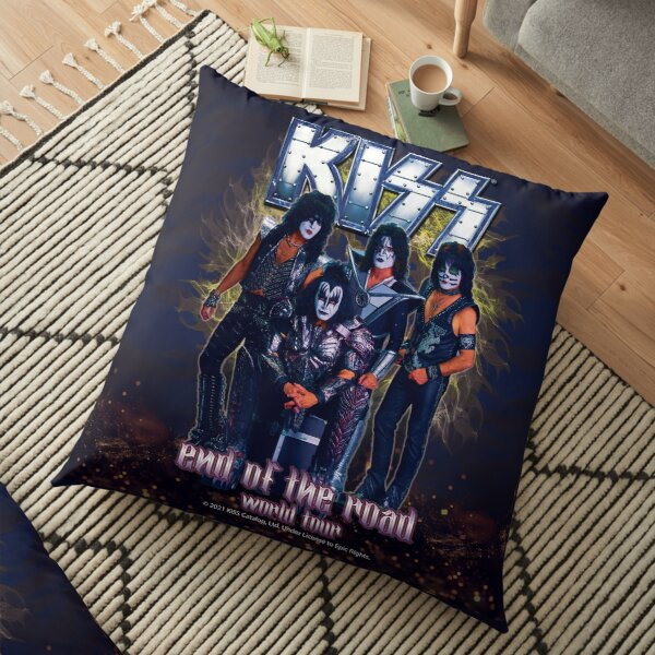 KISS Band-End of the Road World Tour Floor Pillow