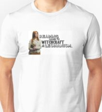 Reading leads to lesbianism T-Shirt