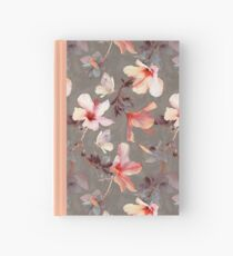 Coral Hibiscus Hardcover Journal