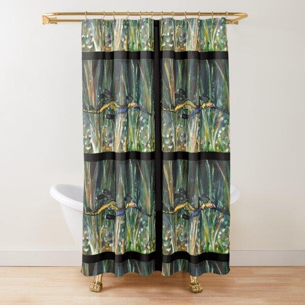 Weedy Sea-dragon - seahorse series - fish  (ED01) Shower Curtain