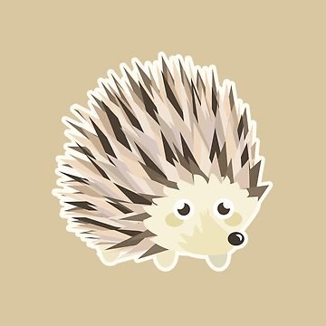 Kawaii Hedgehog by NirPerel