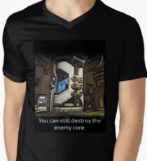 You Can Still Destroy the Enemy Core Men's V-Neck T-Shirt
