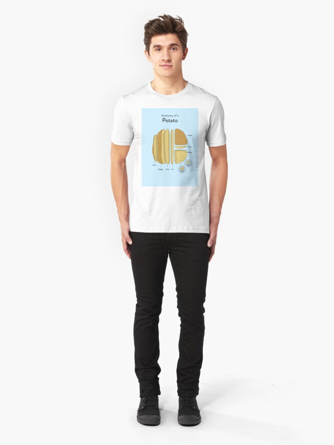 Alternative Ansicht von Kartoffel Slim Fit T-Shirt